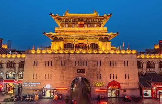 【轻松河南5日游】云台山龙门石窟少林寺清明上河园文化之旅